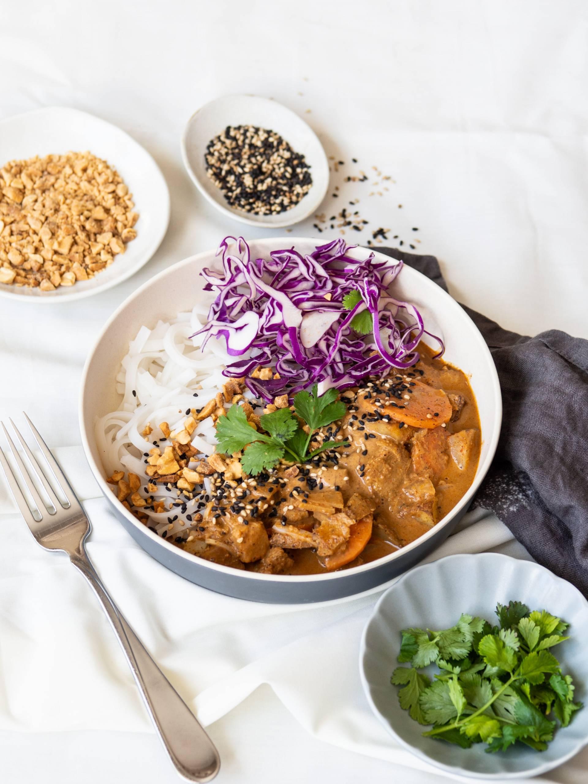 Roasted Peanut Massaman Curry