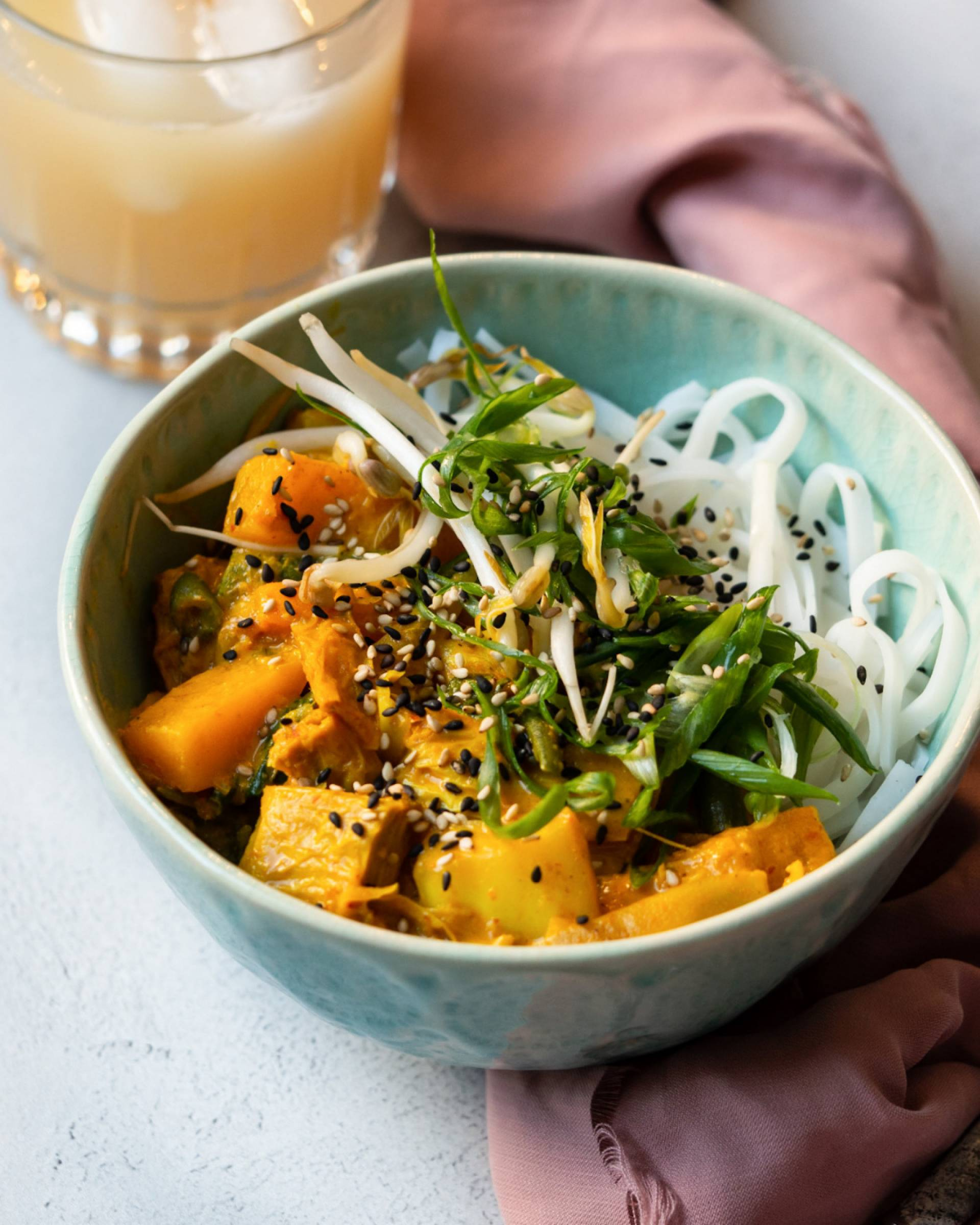 Roasted Butternut + Coconut Curry