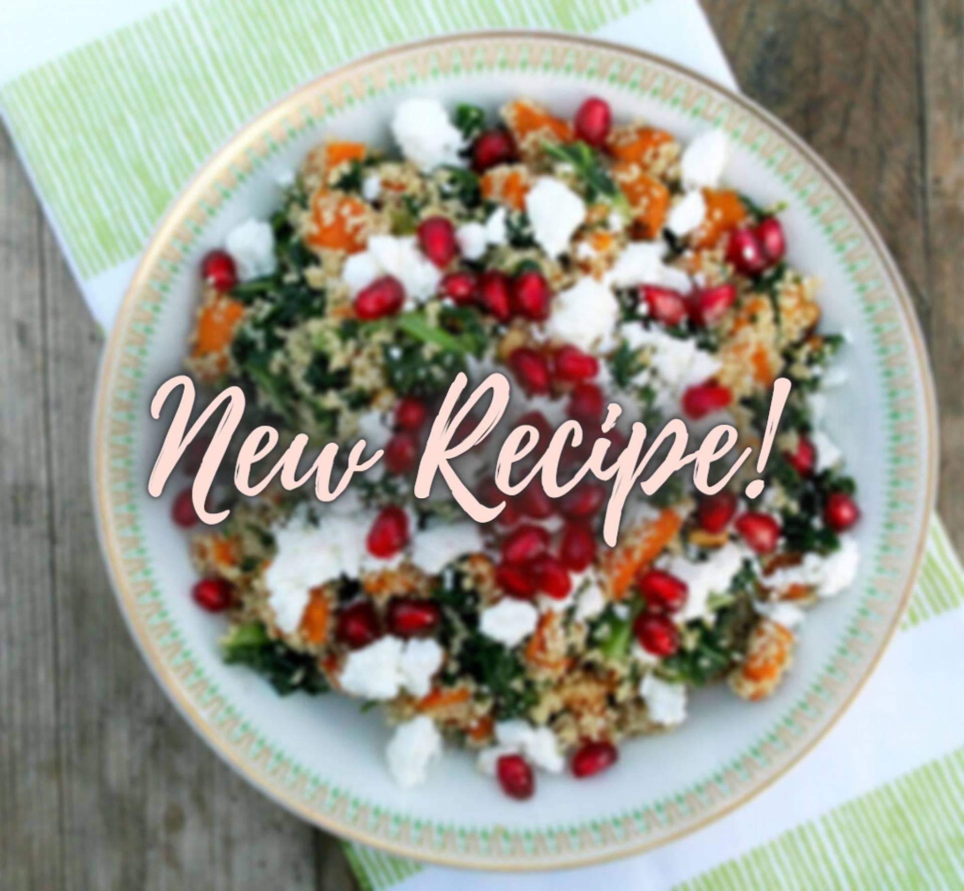 * GF * Moroccan Pomegranate Quinoa Bowl